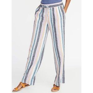 NWT Old Navy Palazzo linen pants with draw…